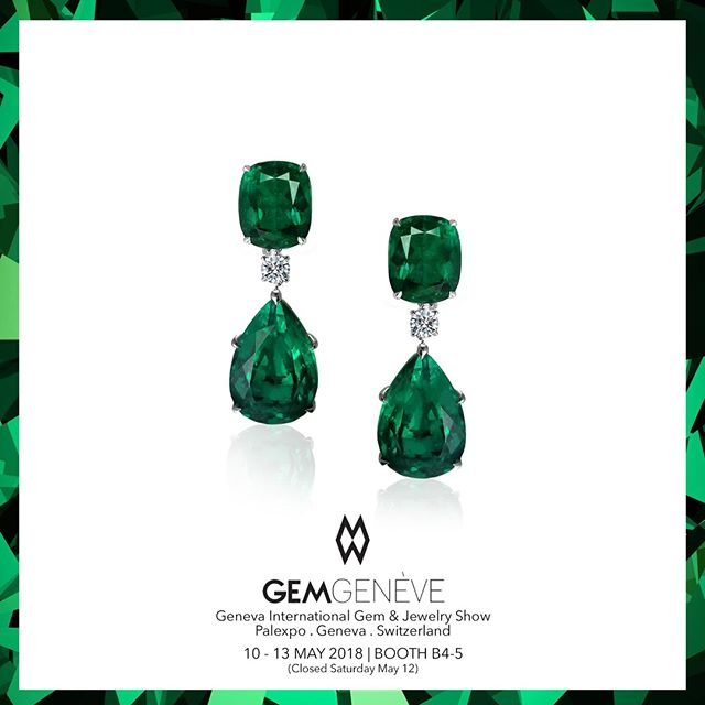 Transforming The Rarest Of Gems Into Luxe High Jewelry Earrings | Looking Forward To Seeing You In Geneva This Week! Booth B4-5 | May 10-13 #GemGeneve2018 #GemGeneve #BestInTheWorld #OnlyAtJosephGad #Emeralds #Colombian #ColombianEmerald #VividGreen #Certified #FineGems #Emerald #Luxury #Jewelry #FineJewelry #HighFashion #HighJewelry #HauteCouture #HauteJoaillerie #Fashion #Jewelry #JosephGad #PreciousGems #TheMostAmazingEmeraldsInTheWorld #KingOfEmeralds
