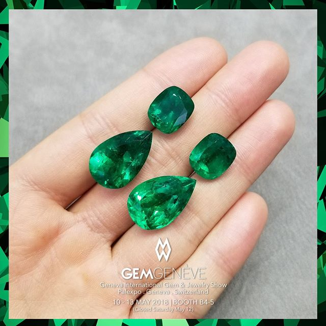 A Pair of Earrings Perhaps... | Looking Forward To Seeing You In Geneva This Week! Booth B4-5 | May 10-13 #GemGeneve2018 #GemGeneve #BestInTheWorld #OnlyAtJosephGad #Emeralds #Colombian #ColombianEmerald #VividGreen #Certified #FineGems #Emerald #Luxury #Jewelry #FineJewelry #HighFashion #HighJewelry #HauteCouture #HauteJoaillerie #Fashion #Jewelry #JosephGad #PreciousGems #TheMostAmazingEmeraldsInTheWorld #KingOfEmeralds