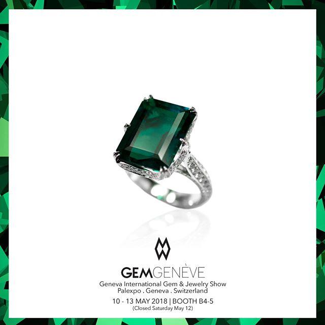 A Contemporary Emerald Cut Colombian Emerald & Diamond Ring | Looking Forward To Seeing You In Geneva This Week! Booth B4-5 | May 10-13 #GemGeneve2018 #GemGeneve #BestInTheWorld #OnlyAtJosephGad #Emeralds #Colombian #ColombianEmerald #VividGreen #Certified #FineGems #Emerald #Luxury #Jewelry #FineJewelry #HighFashion #HighJewelry #HauteCouture #HauteJoaillerie #Fashion #Jewelry #JosephGad #PreciousGems #TheMostAmazingEmeraldsInTheWorld #KingOfEmeralds