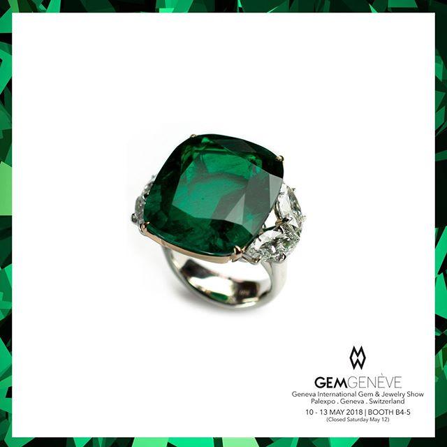 Vivid Green Perfection! | Looking Forward To Seeing You In Geneva This Week! Booth B4-5 | May 10-13 #GemGeneve2018 #GemGeneve #BestInTheWorld #OnlyAtJosephGad #Emeralds #Colombian #ColombianEmerald #VividGreen #Certified #FineGems #Emerald #Luxury #Jewelry #FineJewelry #HighFashion #HighJewelry #HauteCouture #HauteJoaillerie #Fashion #Jewelry #JosephGad #PreciousGems #TheMostAmazingEmeraldsInTheWorld #KingOfEmeralds