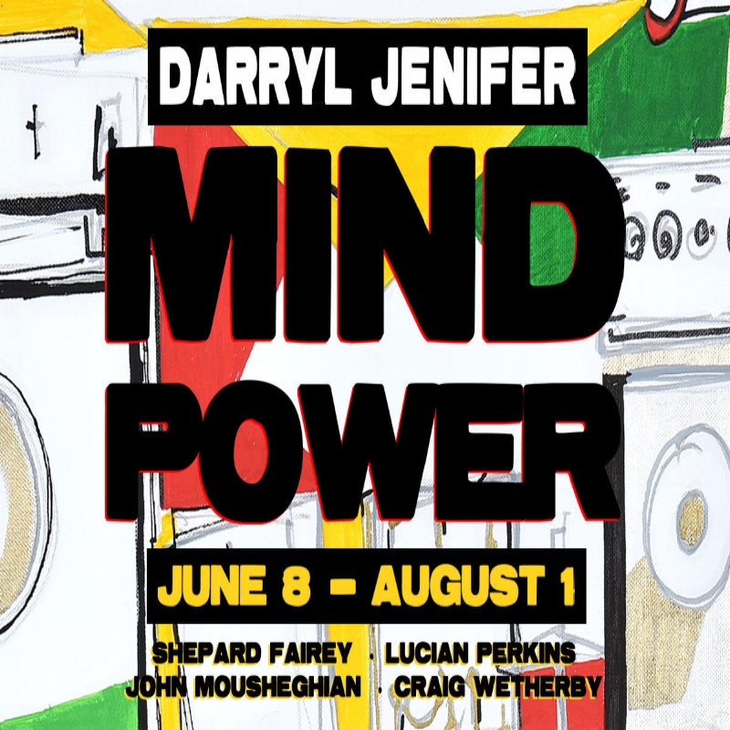 Darryl Jenifer! - MAY 25TH, 2017 - Bad Brains' bass player Darryl Jenifer's solo art show is happening on June 8, 2017 - Make sure you RSVP to the event by clicking to the left!
