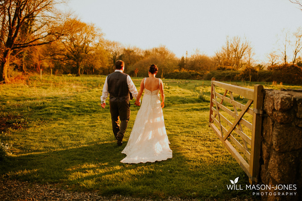 king arthur hotel gower swansea wedding photographer sunset countryside