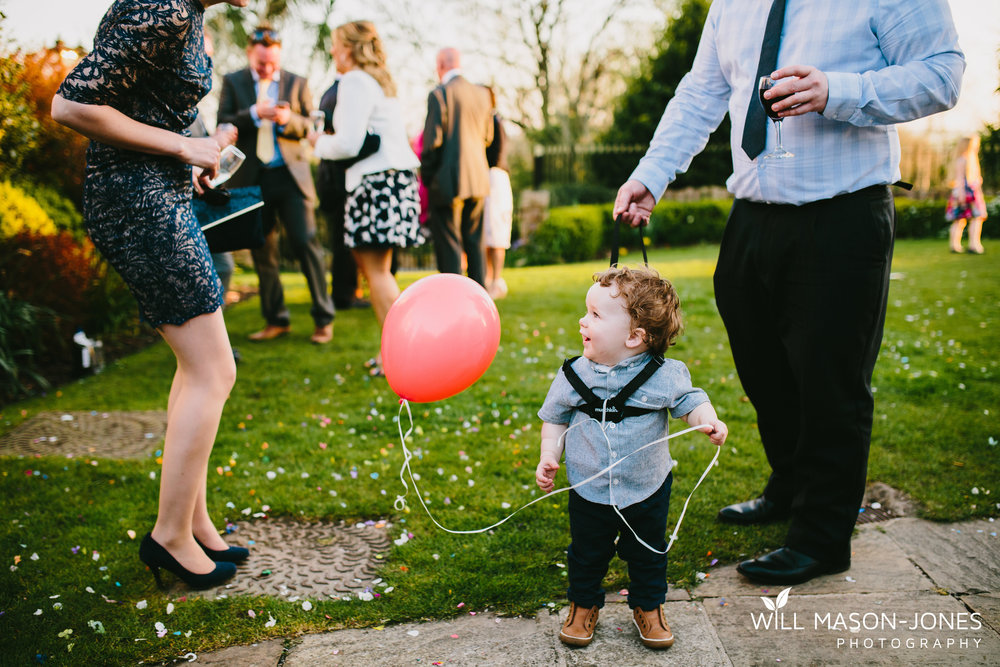 king arthur hotel gower swansea wedding photographer cute