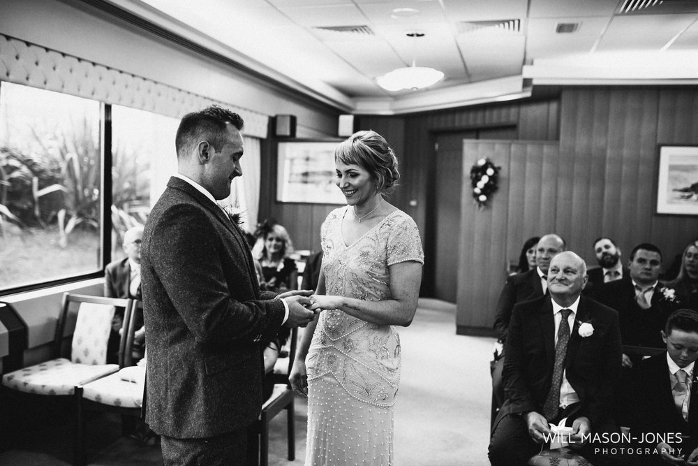 Swansea registry office wedding photography civil ceremony photographer