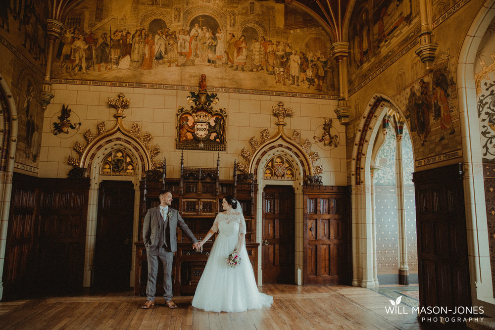 Cardiff castle wedding photographer ceremony speeches portraits