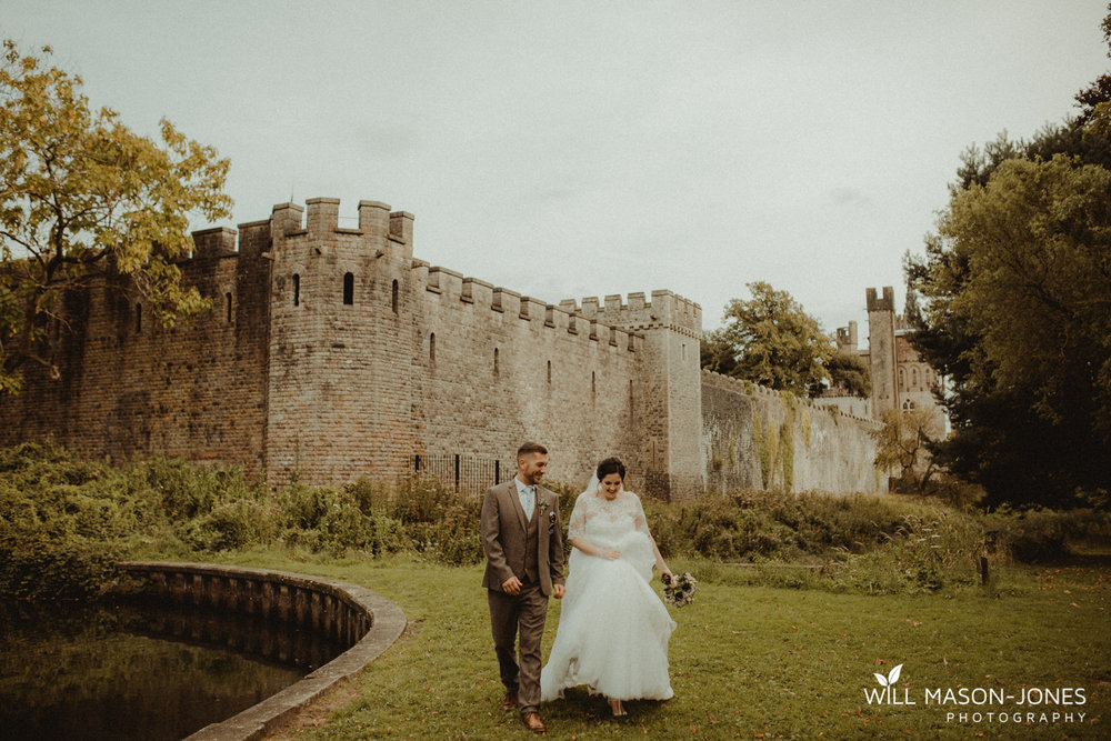 Cardiff castle wedding photographer bute park