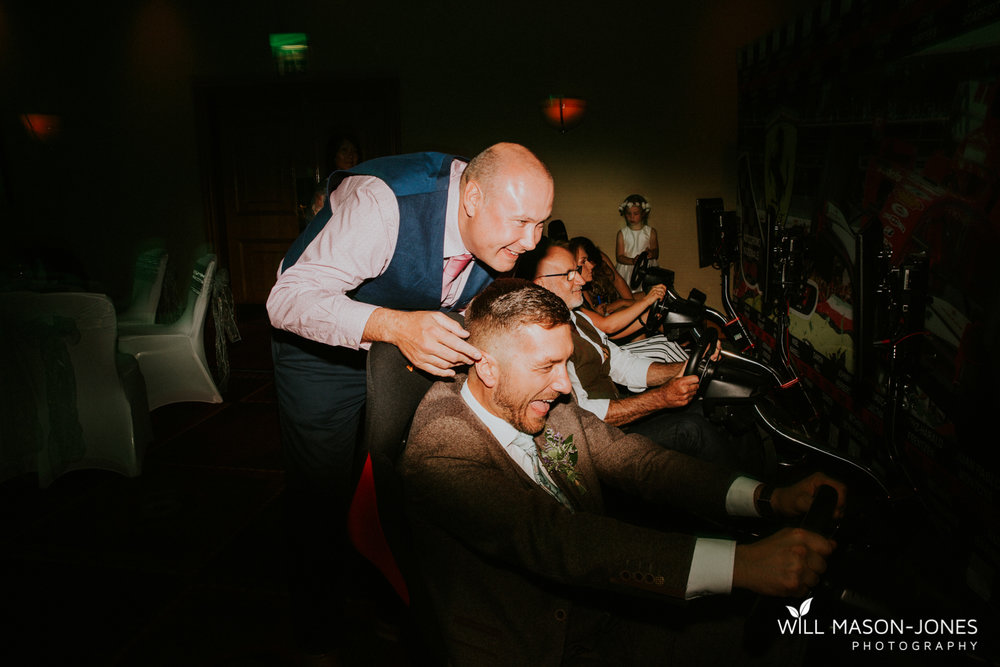 marriott hotel cardiff wedding reception photographer