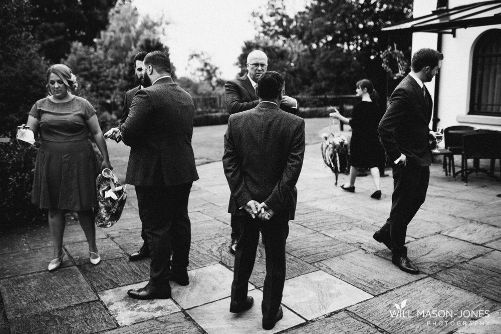Groom preparations at The King Arthur Hotel Gower Swansea photography