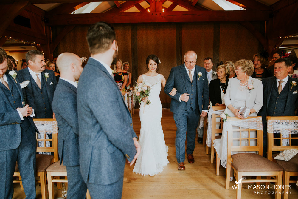 The king arthur hotel swansea wedding ceremony photography