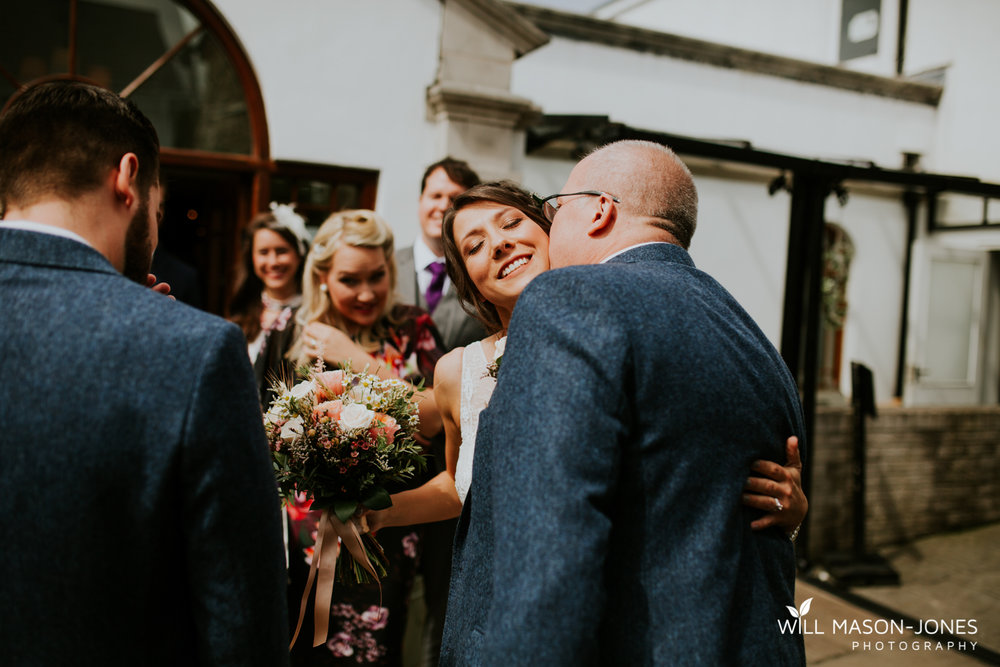 king arthur hotel swansea wedding venue guests photography