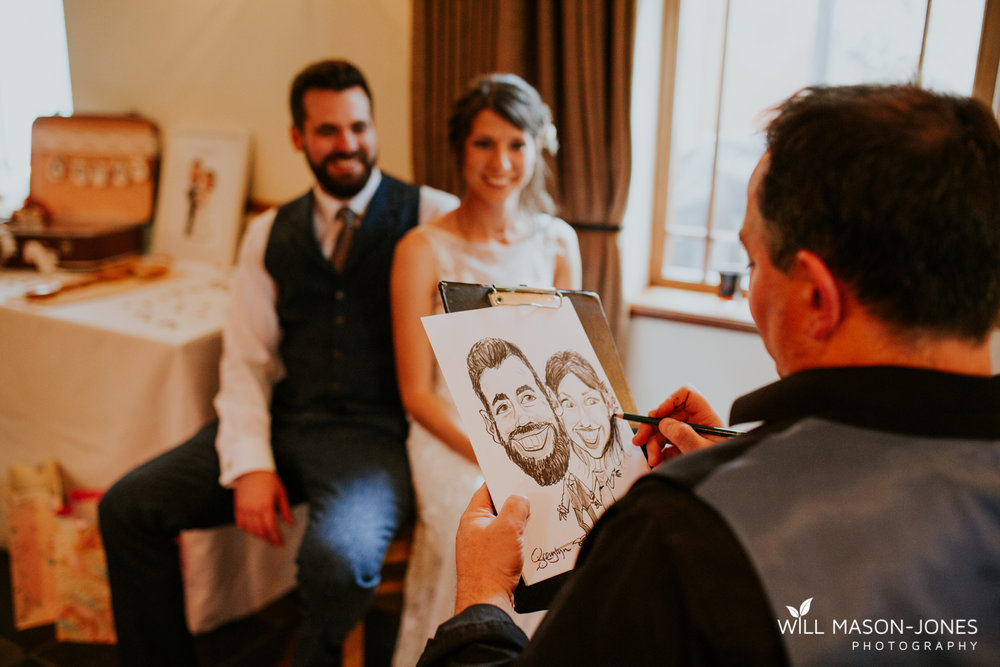 king arthur hotel swansea natural wedding photography