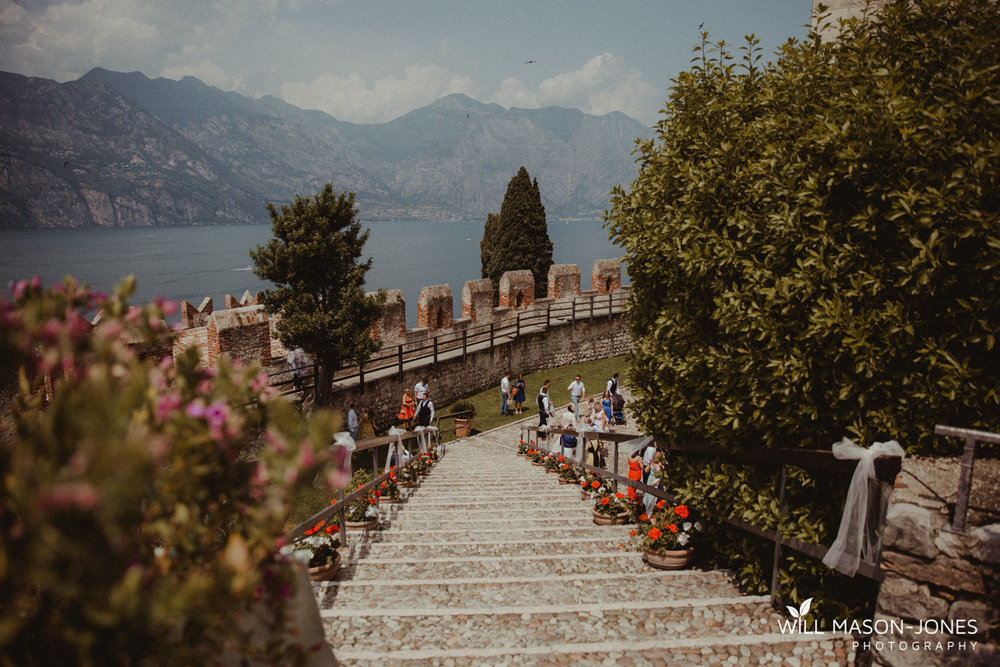 malcesine castle lake garda weddings ceremony photographer