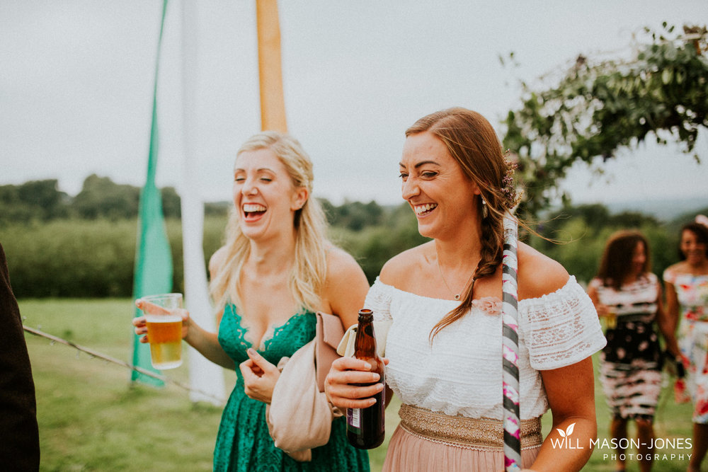 pen y banc farm wales tipi folk festival relaxed colourful wedding photography