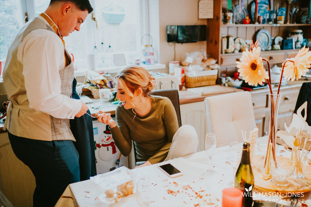 bridal preparations pontardawe wedding photography relaxed
