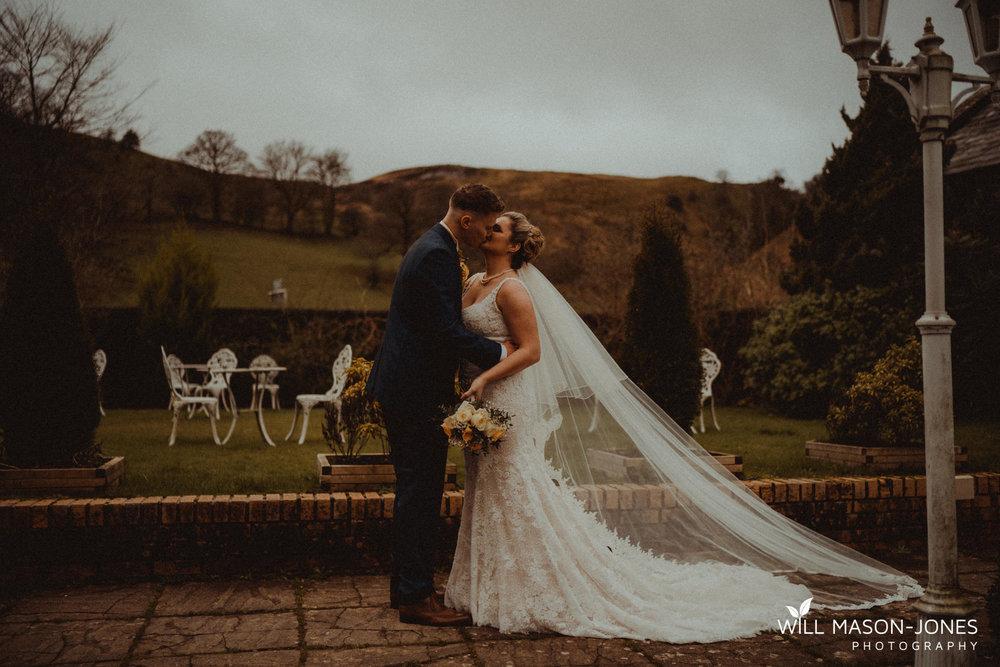 craig y nos castle weddings couple portraits grounds natural photography