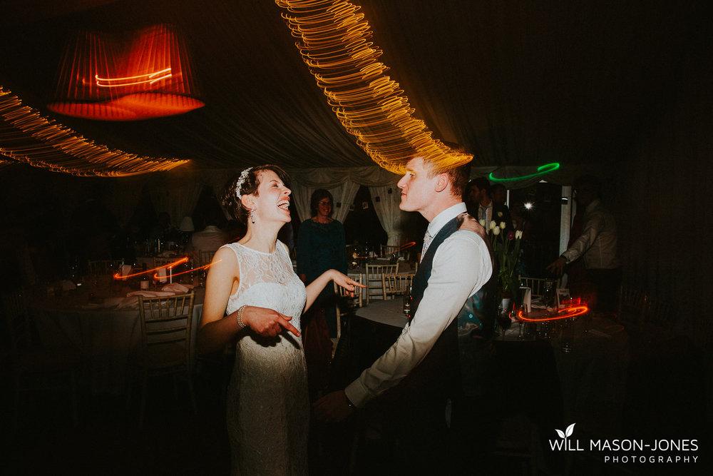 colourful energetic fun dancefloor dancing photography llanerch vineyard wedding cardiff
