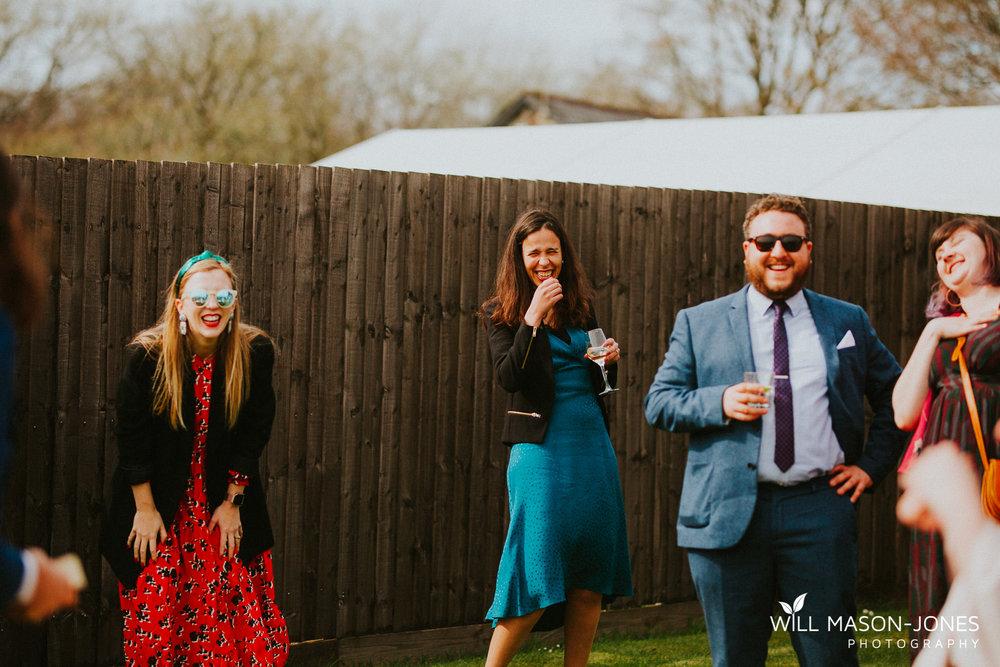 llanerch vineyard cardiff wedding guests photography