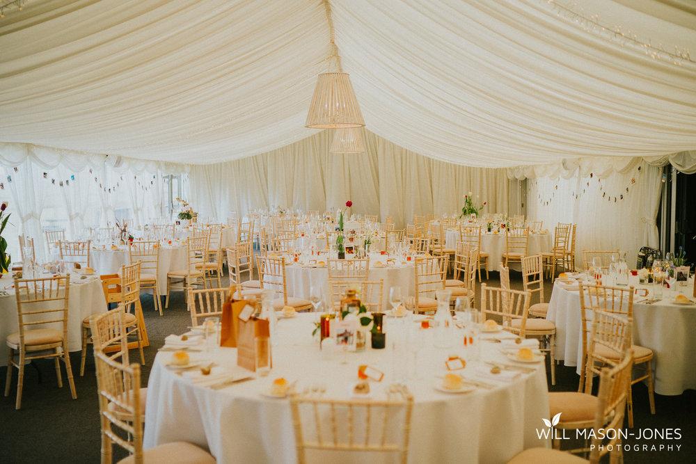 llanerch vineyard wedding reception marquee breakfastphotography colourful