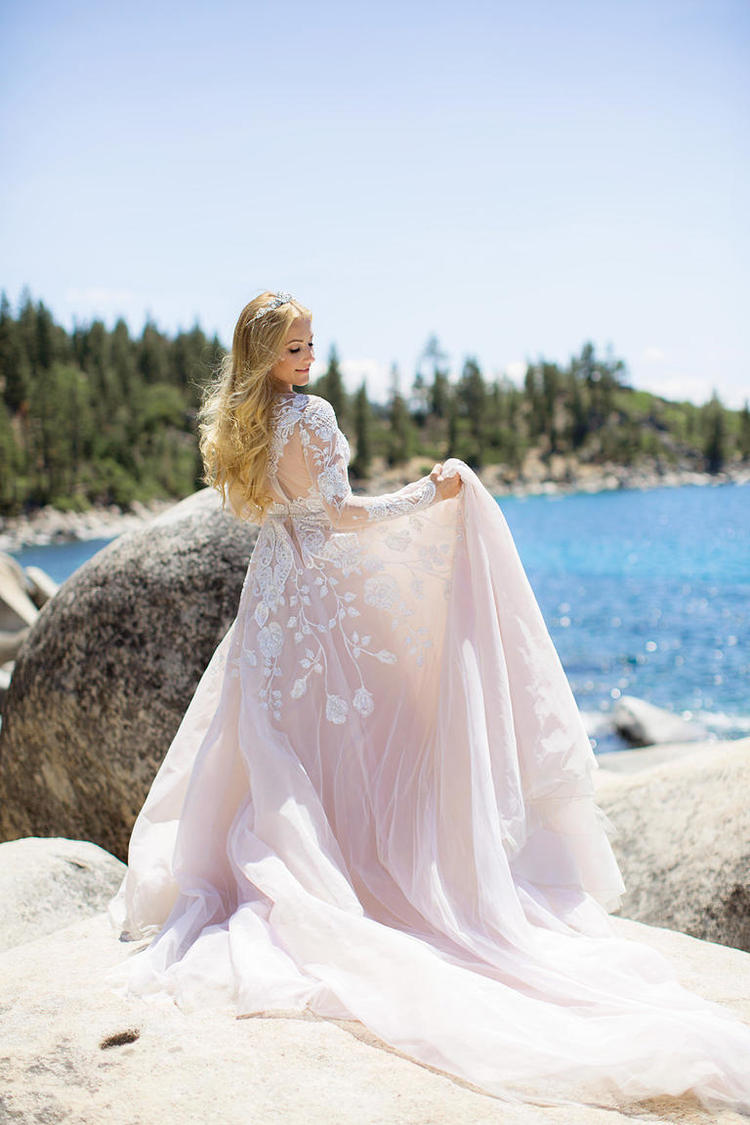 Hayley Paige Has the Most Fabulous Wedding Day Ever! Congrats to our ...