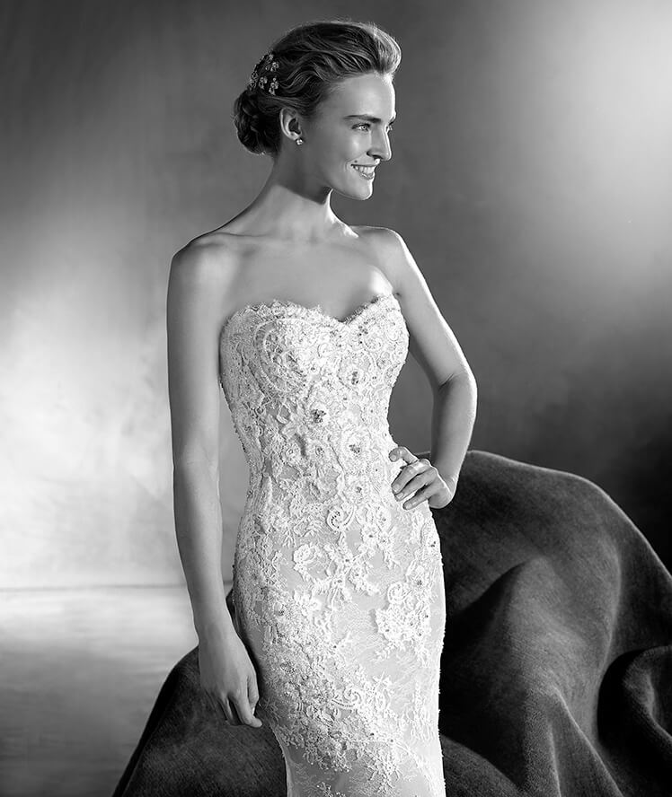 PRONOVIAS ATELIER Edith - Was $3,210