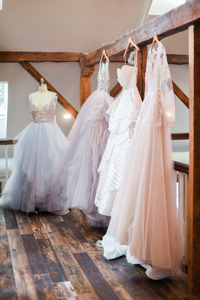 Pretty Pastel Wedding Dresses by Hayley Paige