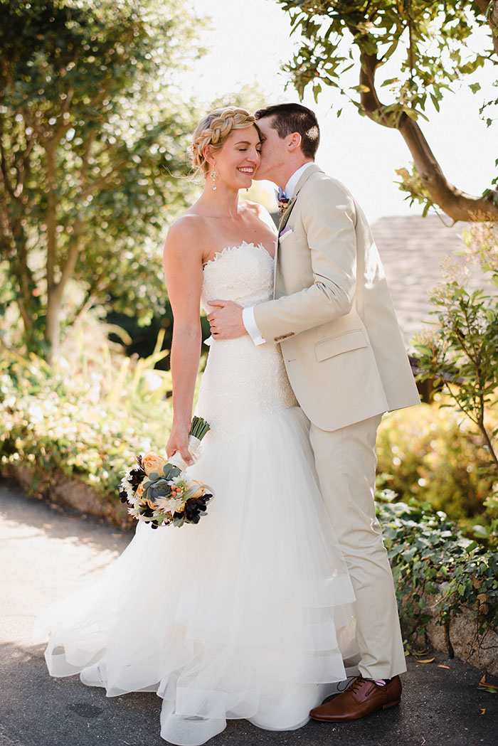 Romantic Coastal Carmel Wedding Day