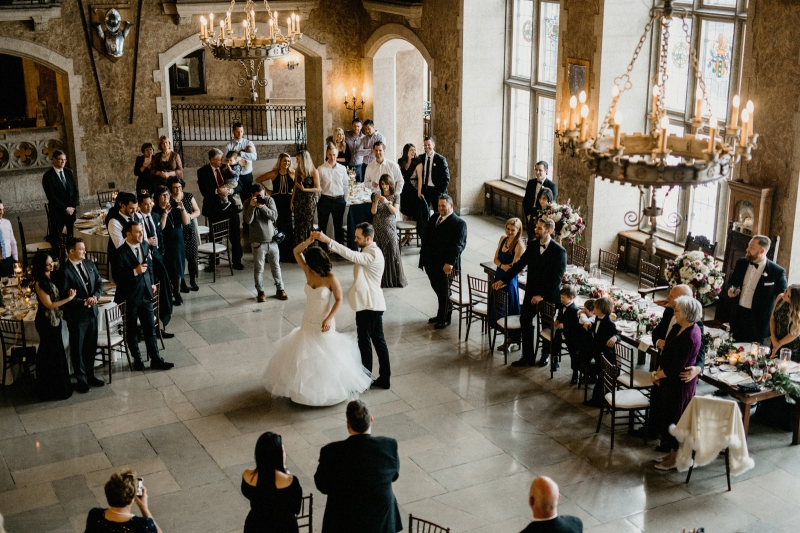 Gorgeous First Dance Photo