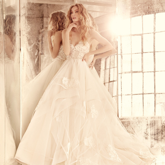 Hayley Paige Chantelle Wedding Dress