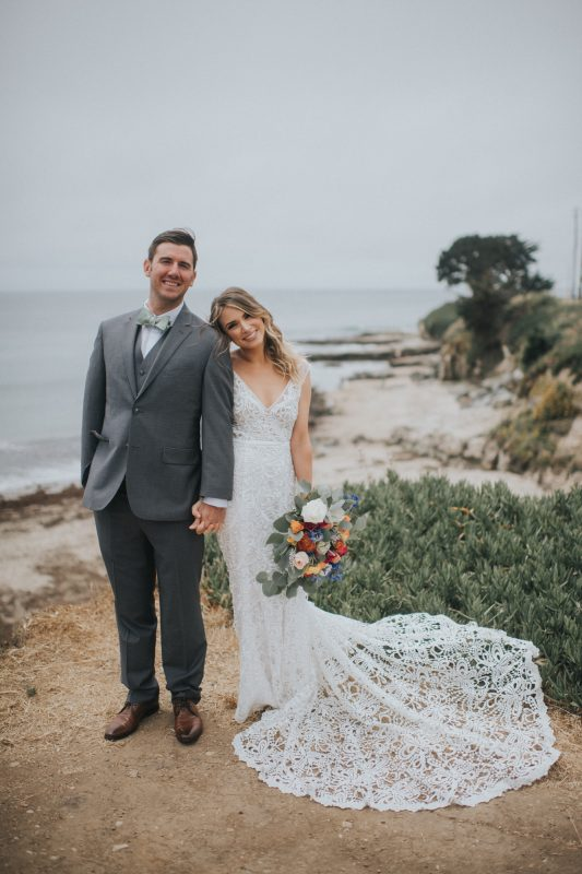 Our Stunning Real Bride in the Made With Love Sasha Wedding Dress