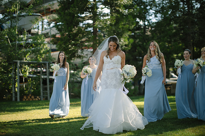 Bride Squad Goals in Hayley Paige