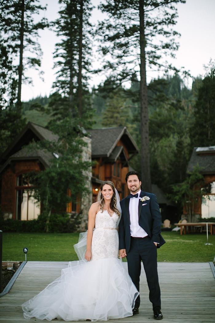 Chic Lakeside Wedding in Tahoe