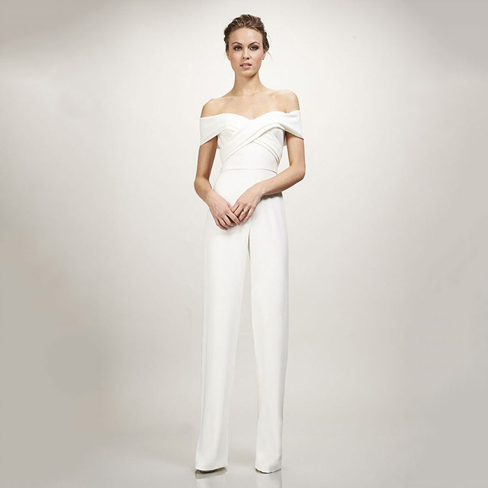 Theia Bridal Colette Jumpsuit - Coming Soon!
