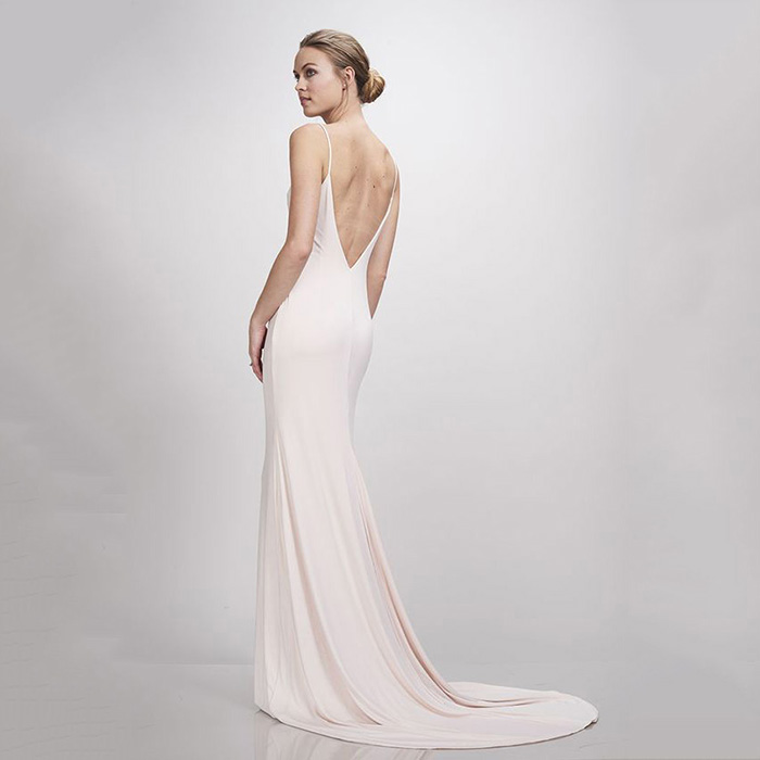 Theia Bridal Ivy in Blush