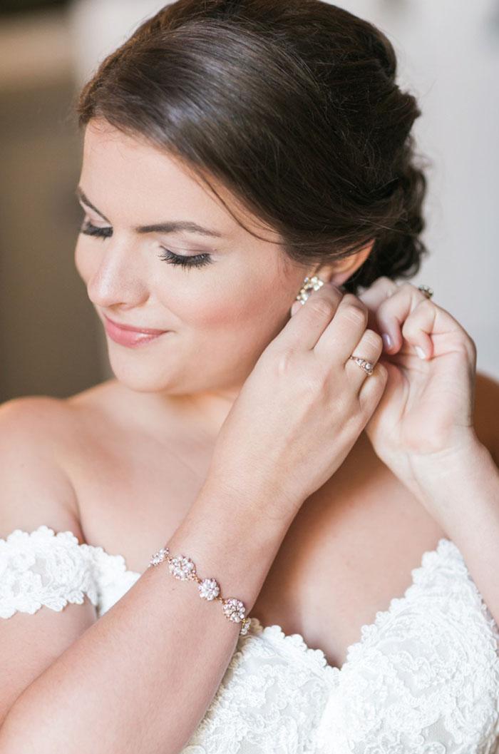Custom Haute Bride Wedding Jewelry