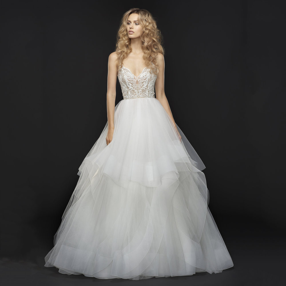 Hayley Paige Fall 2017 Jax Wedding Dress