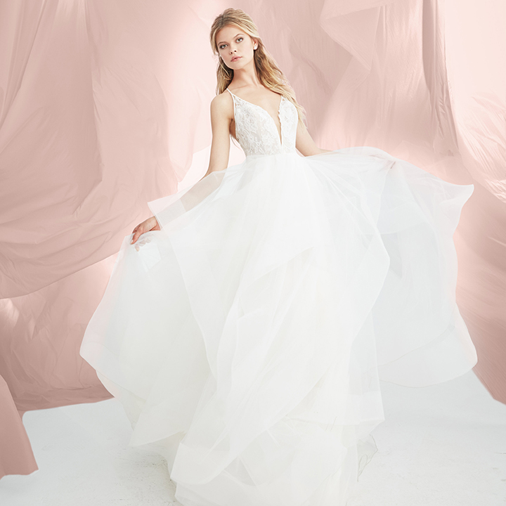 Blush by Hayley Paige Rory Gown