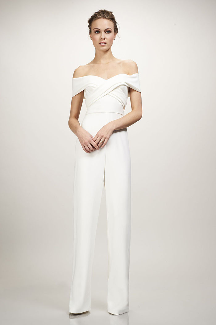 Theia Bridal Colette Jumpsuit
