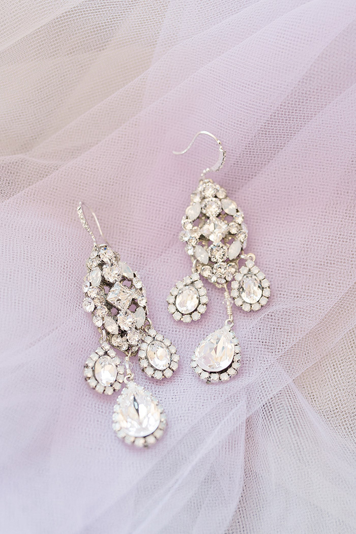 Haute Bride Couture Bridal Jewelry to Match a Hayley Paige Wedding Dress