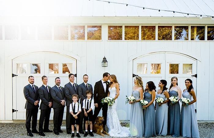 Elegant Barn Wedding Photos in Southern California