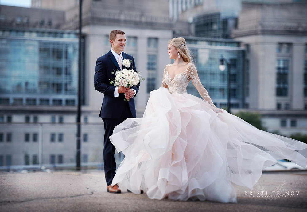Perfect Twirling Wedding Dress from Hayley Paige