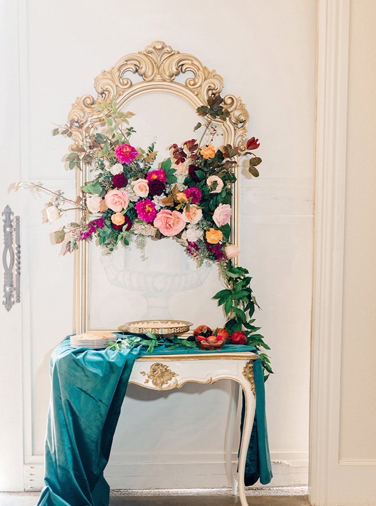 Jewel Tone Winter Wedding Shoot with Hayley Paige and Haute Bride