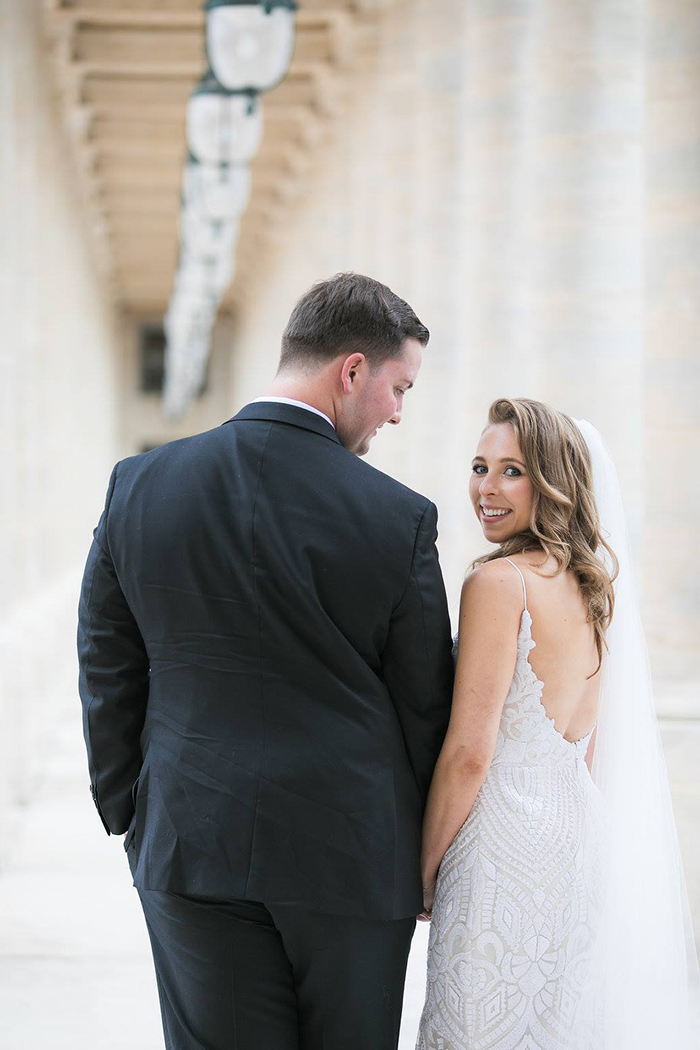 Haute Bride Lacie in West by Blush by Hayley Paige | Photography: Catherine O'Hara