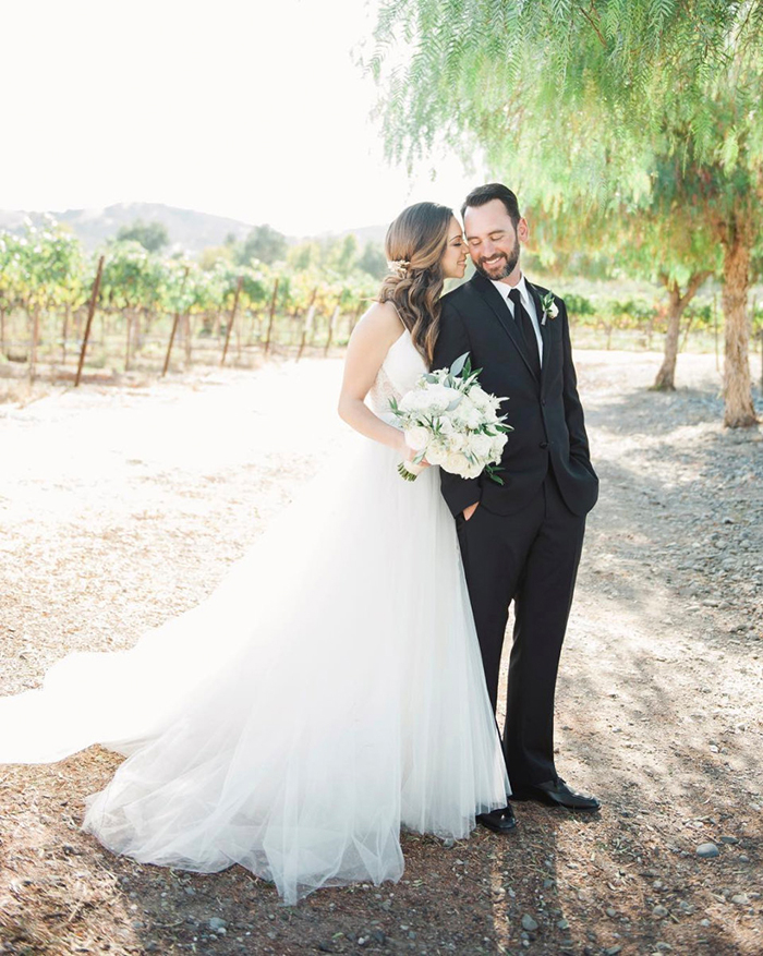 Haute Bride Stephanie in Penny by Christos Bridal | Photography:  Ashley Maxwell Photography