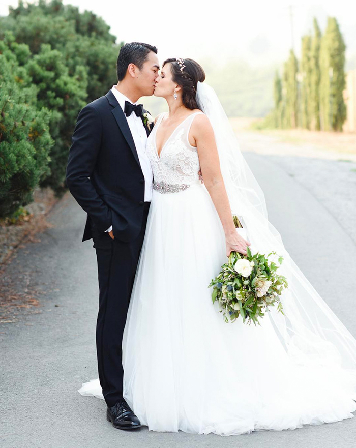 Haute Bride Bryana in Willow by Made With Love Bridal | Photography:  Melody White Studios
