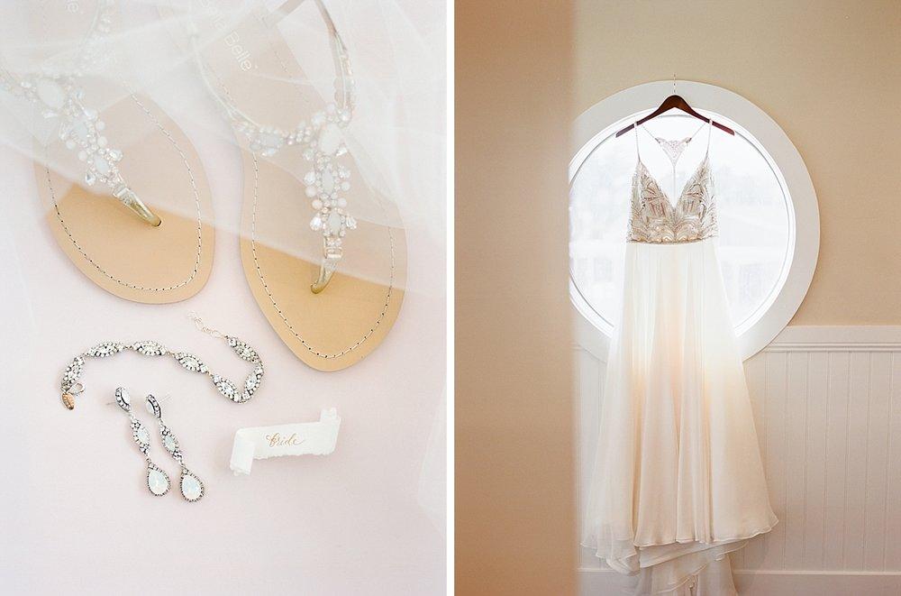 White Opal Swarovski Crystal Bridal Accessories from Haute Bride