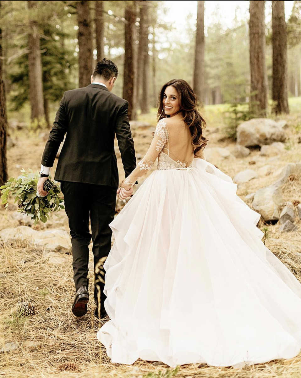 Haute Bride Neev in Lorelei by Hayley Paige | Photography: Chard Photography
