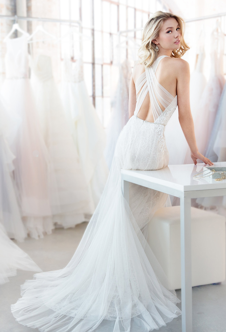 Blush By Hayley Paige Spring 2018 Dawson Wedding Dress