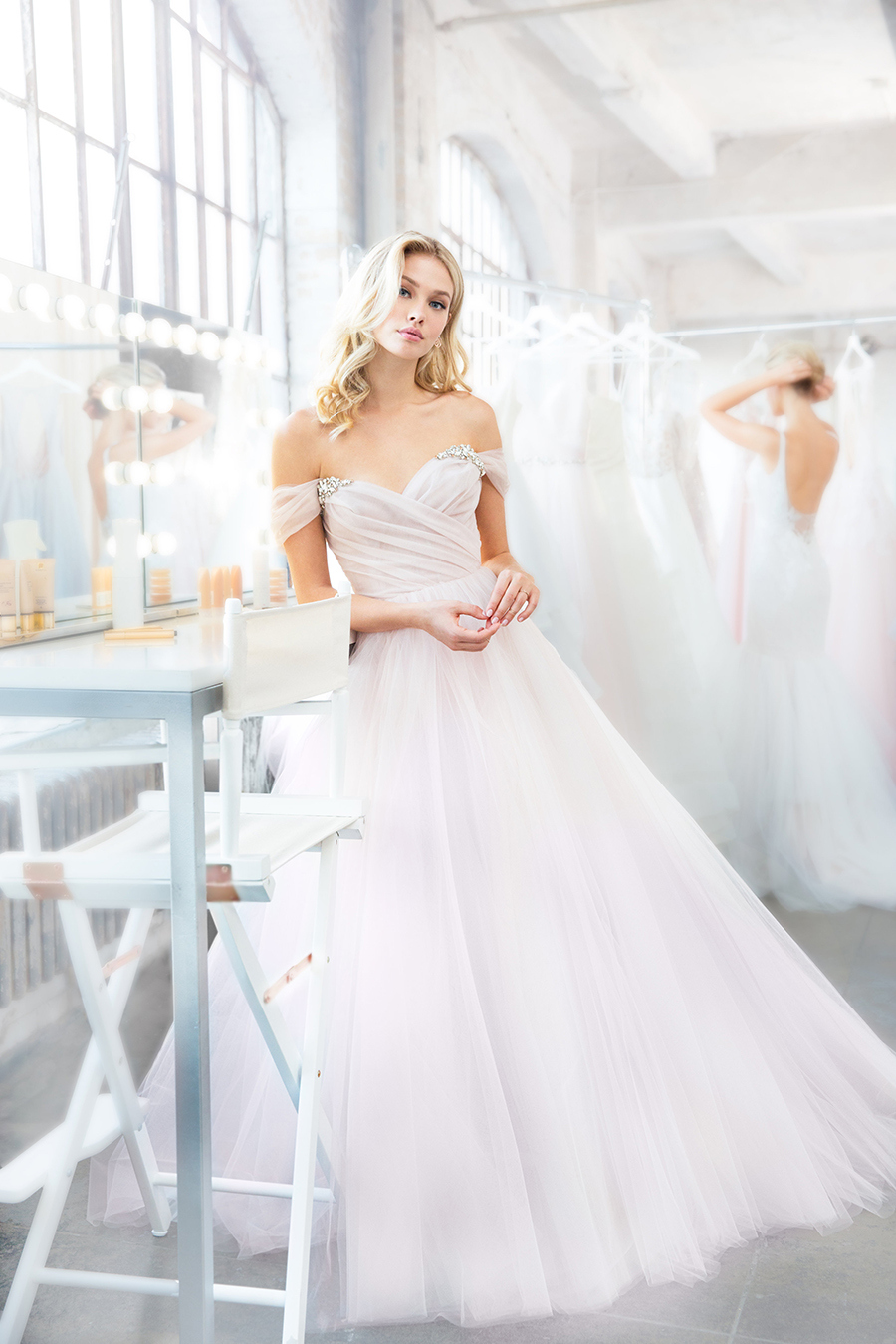 91cd823370316 Blush by Hayley Paige Spring 2018 Trunk Show at Haute Bride — HAUTE ...