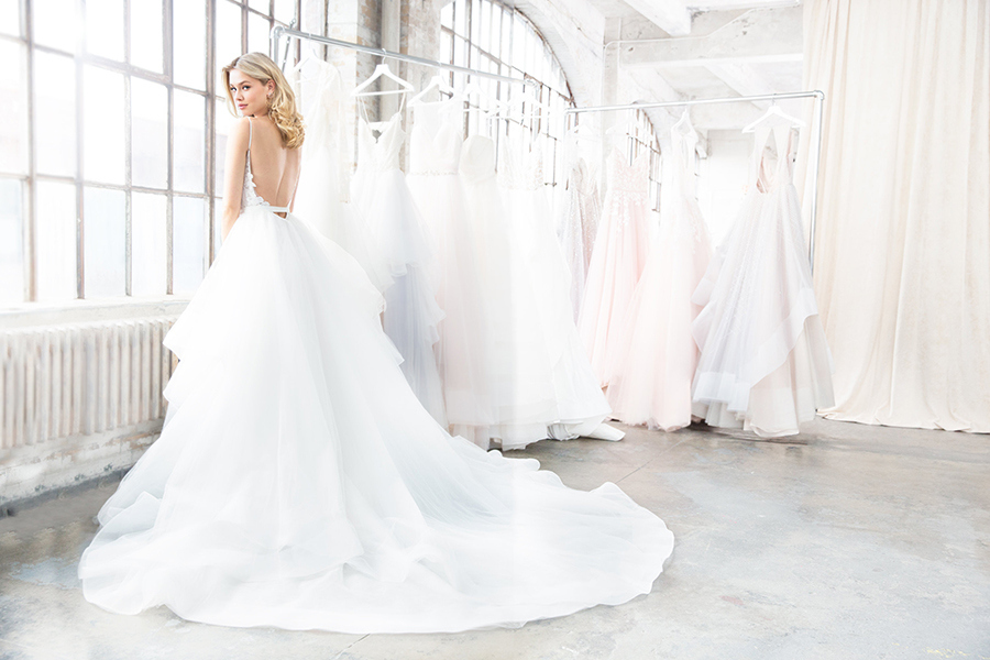 Blush by Hayley Paige Spring 2018 Nessy Wedding Dress