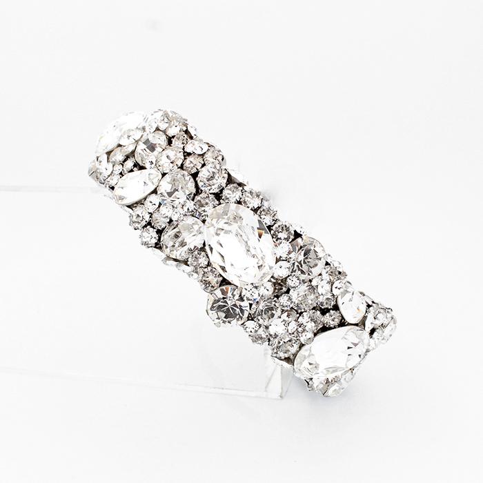 Haute Bride Crystal Cuff Bracelet